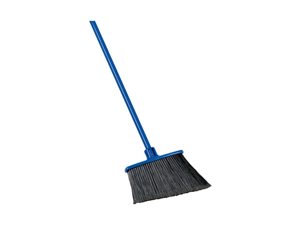 "Quickie® 735 Extra-Reach® Angle Broom with 48"" Steel Handle"