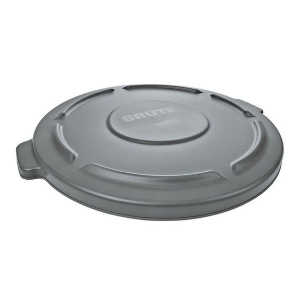 Rubbermaid® 2631-00-GRAY Lid for Brute® Round 32-Gallon Containers, Gray