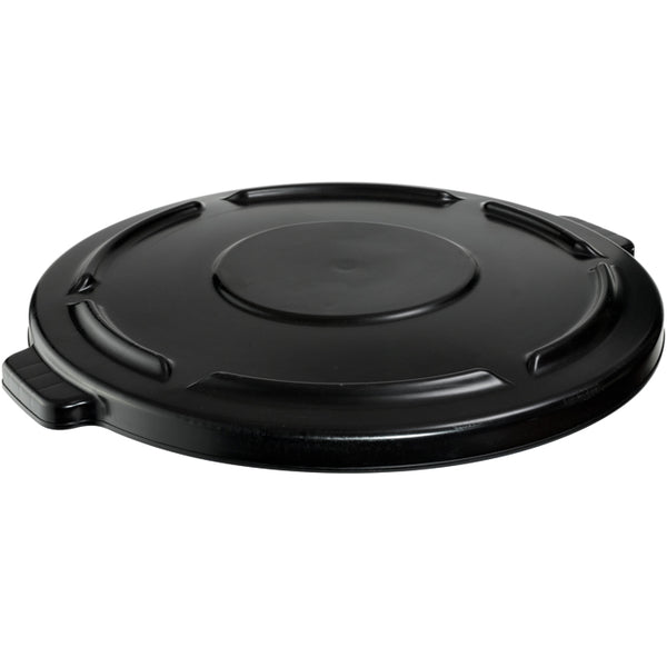 Rubbermaid® Commercial 2645-60-BLA Lid for Round Brute Trash Cans, 44 Gallon