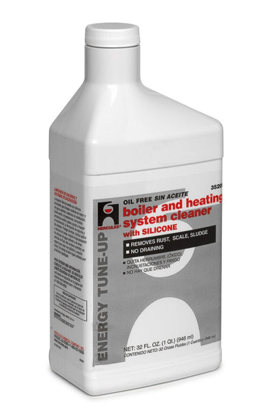 Hercules 35206 Boiler & Heating System Cleaner with Silicone, 1 Qt