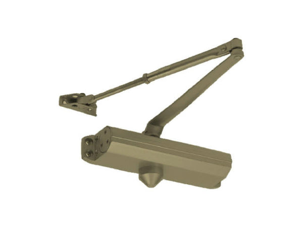 Tell DC100048 Commercial Grade 1 Door Closer 2 Million Cycles, Size 4