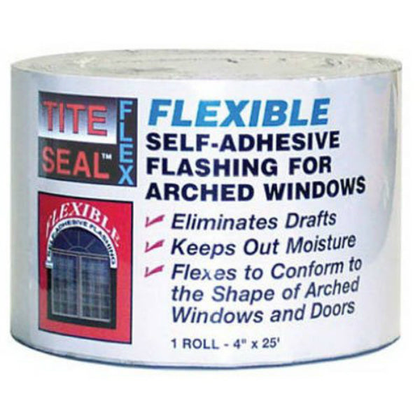 "Tite-Seal® TSF425 Flex Self-Adhesive Waterproof Window & Door Flashing, 4"" x 25'"