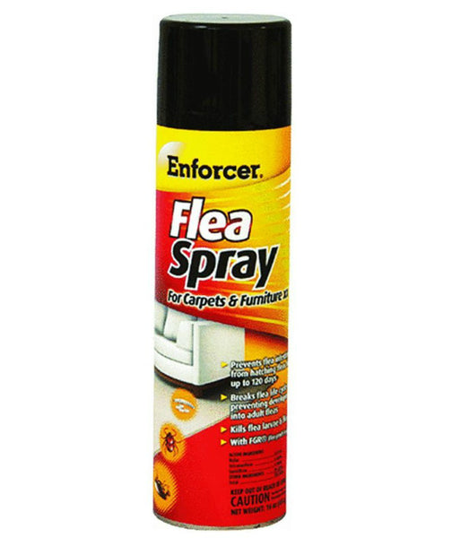 Enforcer ENFS14 Flea Spray For Carpets & Furniture, 14 Oz