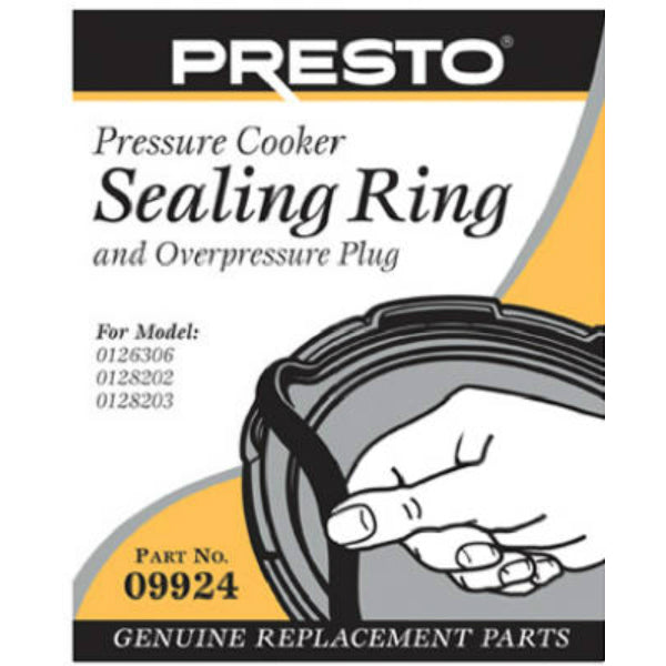 Presto® 09924 Pressure Cooker Sealing Ring with Automatic Air Vent