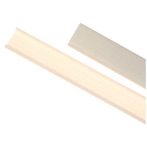 Wiremold® NM1 Nonmetallic Raceway Wire Channel, Plastic, 5', Ivory