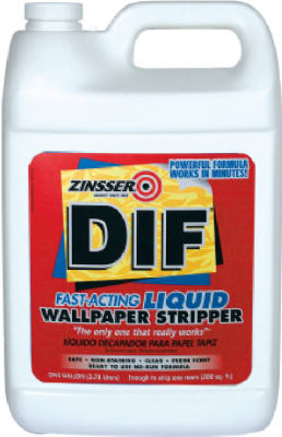 Zinsser DIF Fast Acting Ready-To-Use Liquid Wallpaper Stripper,1Gallon