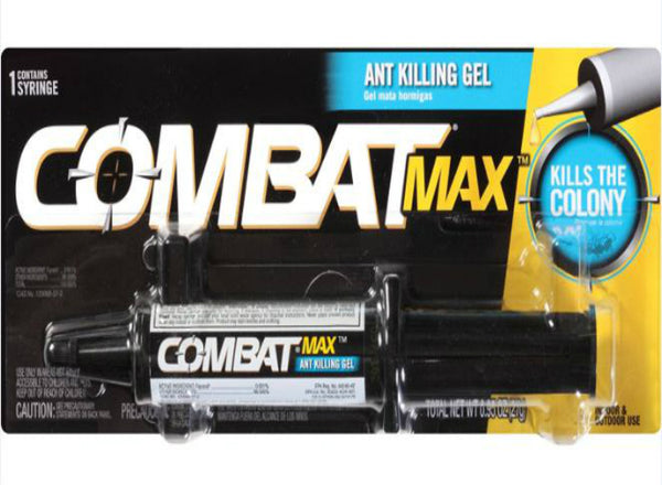 Combat® 97306 Max™ Ant Killing Gel for Ants & The Colony, 27 Gram