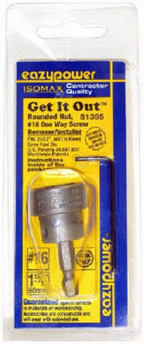 Eazypower® 81395 One Way Screw Remover/Installer, #16