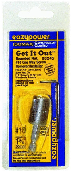 Eazypower® 88245 Isomax® Get-It-Out 1-Way Screw Remover/Installer, #10