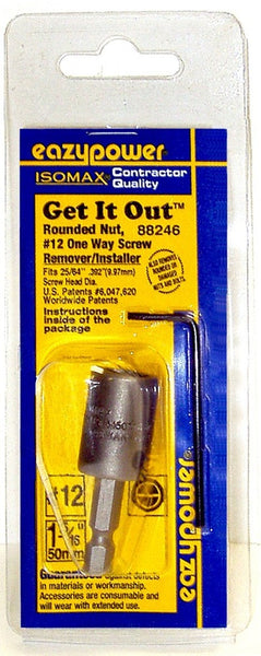 Eazypower® 88246 Isomax® Get-It-Out 1-Way Screw Remover/Installer, #12