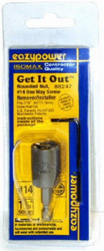 Eazypower® 88247 Isomax® Get-It-Out 1-Way Screw Remover/Installer, #14