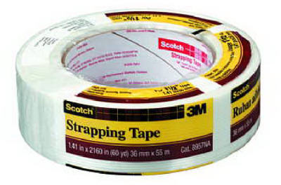 "Scotch® 8957-1.5 Strapping Tape, 1.5"" x 60 Yd"