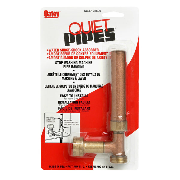 Oatey® 38600 Quiet Pipes Washing Machine Supply Line Shock Absorber