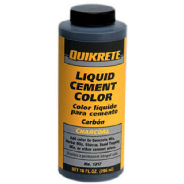 Quikrete® 1317-00 Liquid Cement Color, 10 Oz, Charcoal