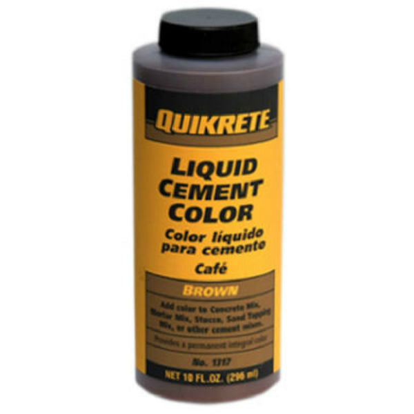 Quikrete® 1317-01 Liquid Cement Color, 10 Oz, Brown