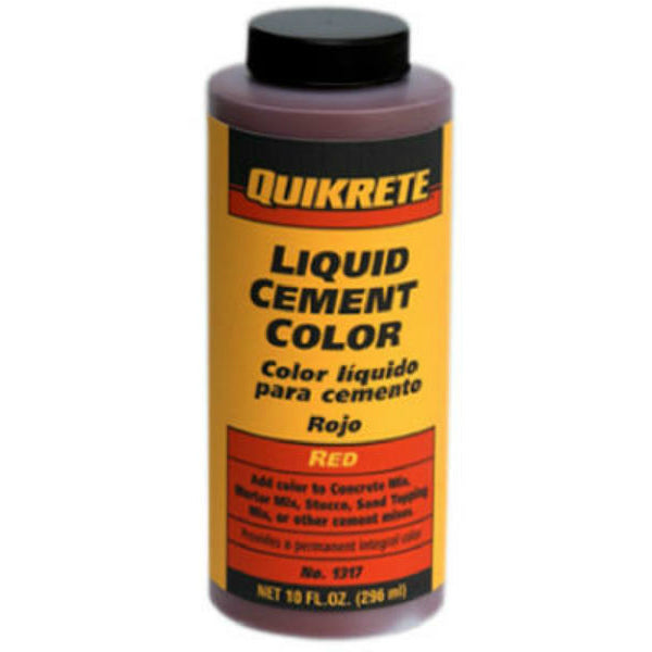 Quikrete® 1317-03 Liquid Cement Color, 10 Oz, Red