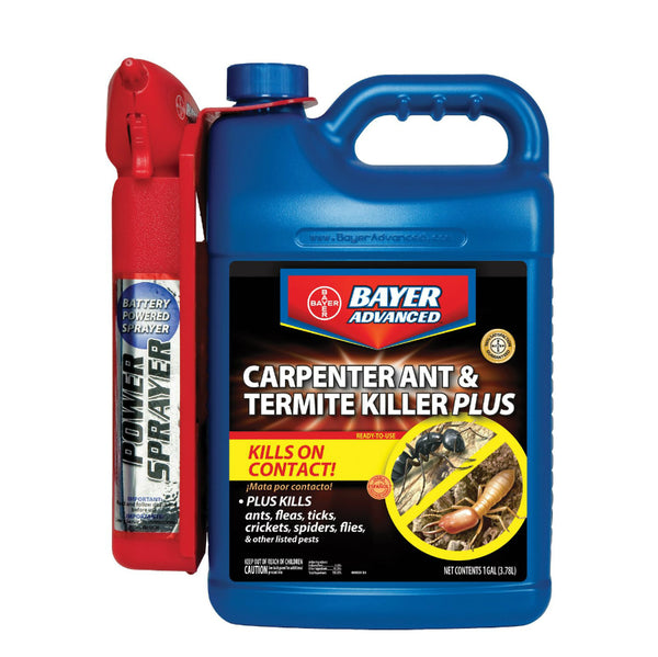 Bayer Advanced™ 700335A Carpenter Ant & Termite Killer Power Sprayer, 1.3 Gallon