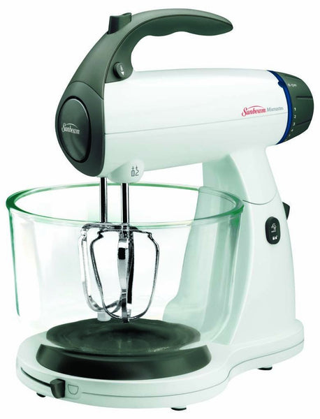 Sunbeam® 2371 Mixmaster® Stand Mixer, 350 Watts, White
