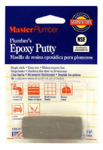 Master Plumber 044040-288 Plumbers Epoxy Putty, 1-1/3 Oz