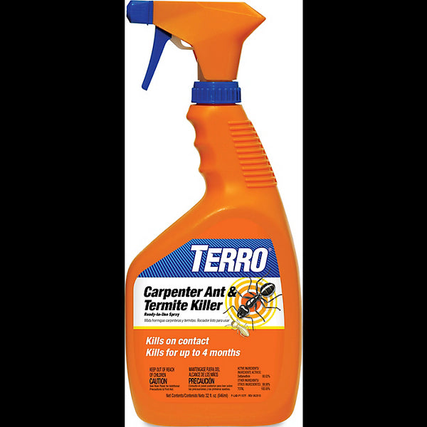 Terro T1100-6 Carpenter Ant & Termite Killer, Ready-to-Use, 1 Qt