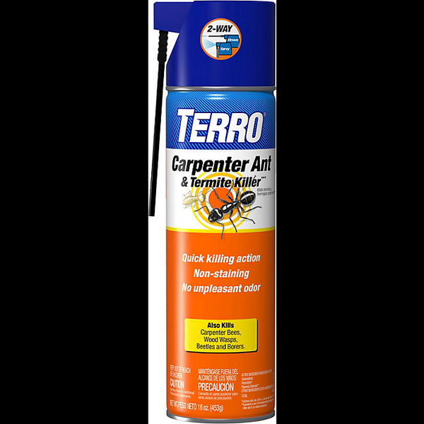 Terro T1900-6 Carpenter Ant & Termite Killer Aerosol, 16 Oz