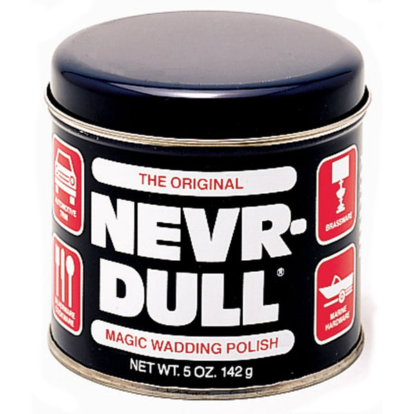 Nevr-Dull® 00L Magic Wadding Polish for Cleaning & Polishing All Metals, 5 Oz
