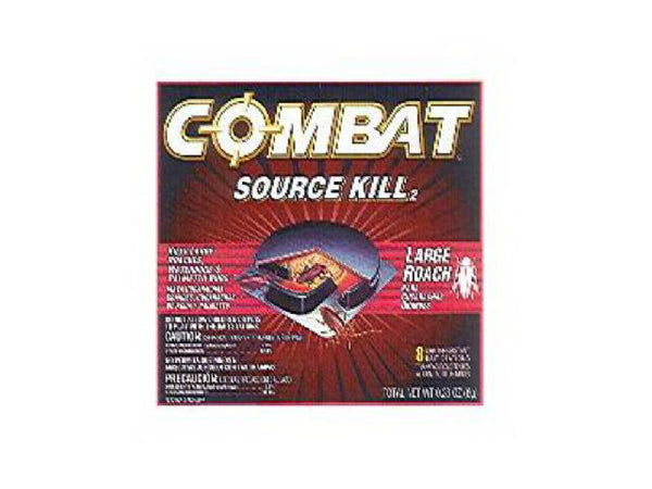 Combat® 41913 Source Kill Roach Killing System, 8-Count