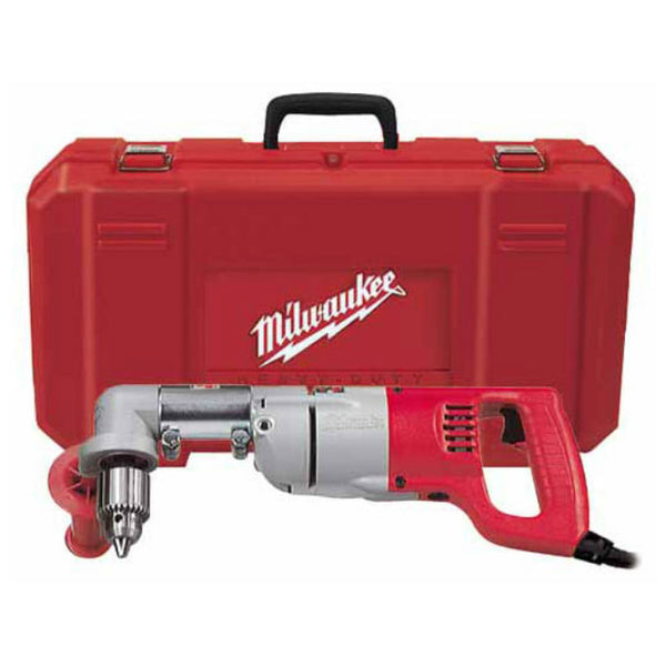 Milwaukee® 3107-6 D-Handle Right Angle Drill Kit, 1/2""