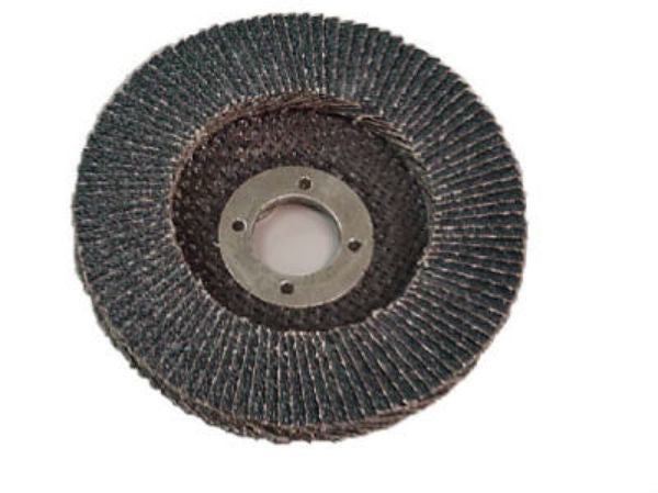 "Virginia Abrasives™ 427-43040Z Zirconia Flap Disc, 4-1/2"" x 5/8""-11"", 40 Grit"