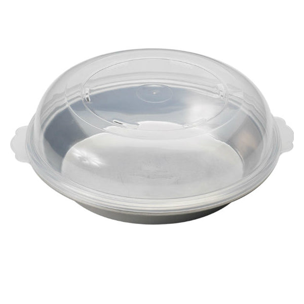 "Nordic Ware® 44103 Pie Pan with Plastic Cover, 13"" x 11.75"""