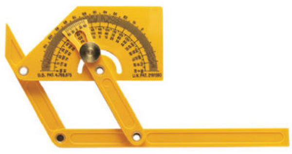 General Tools 29 Outside Inside & Sloped Angle Protractor/Angle Finder