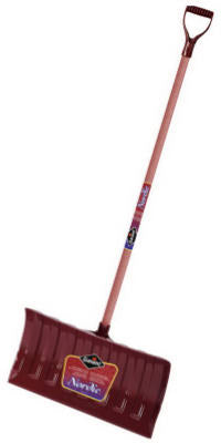 Garant NPP21KDU Nordic Poly Blade Snow Pusher wth Stained Ash Handle, 21""