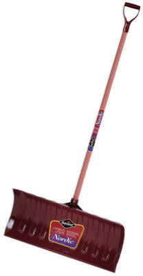 Garant NPP26KD Nordic Poly Snow Pusher with Stained Ash Handle, 26""