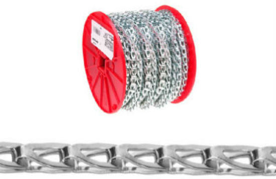 Campbell® 0890827 Sash Chain, 500', Zinc Plated