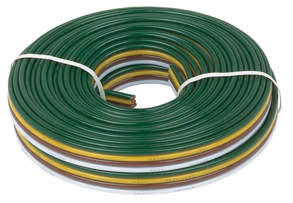 Hopkins 49915 Copper 4-Wire bonded, 16/18 Gauge, 25'