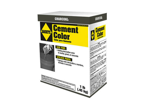 Sakrete® 65075002 Cement Charcoal Color, Lb