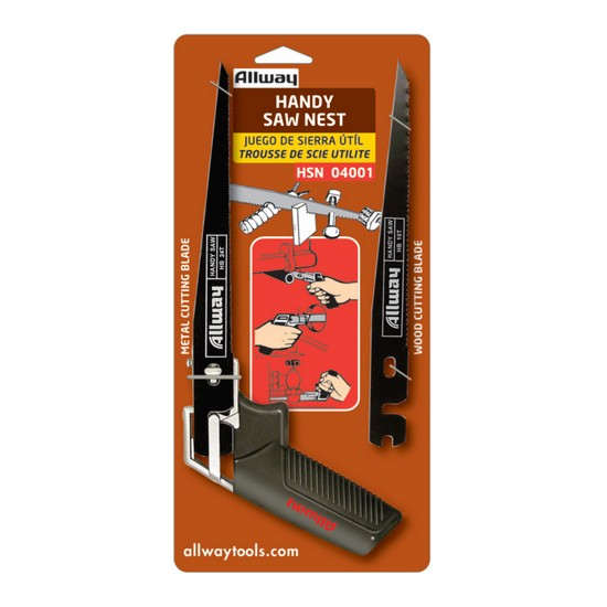 Allway Tools HSN Original Handy Saw Nest with Spare Blade