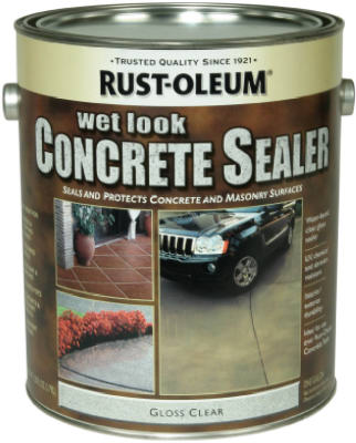 Rust-Oleum® 239416 Penetrating Water Based Stain & Sealer, 1 Gallon, Wet Look