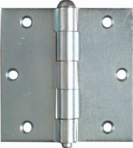 "National Hardware® N195-669 Removable Pin Broad Hinge, 3-1/2"", Zinc, 2-Pack"