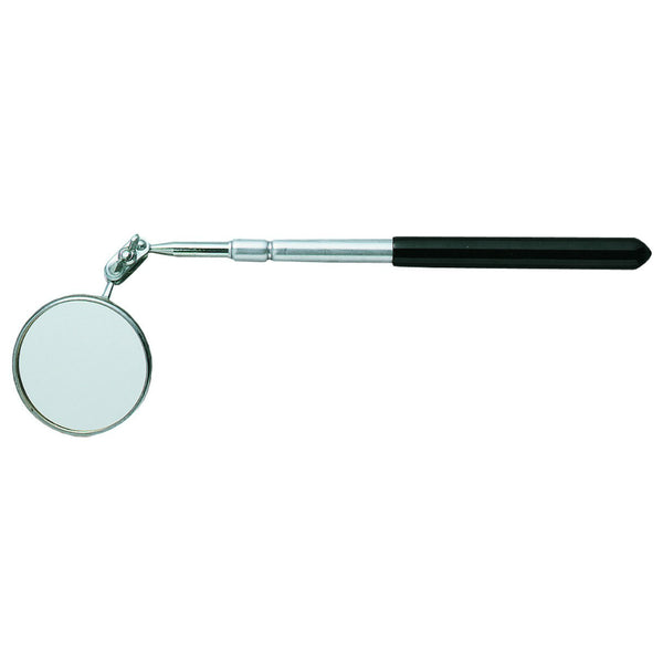 "General Tools 557 Telescope Round Glass Inspection Mirror, 10-1/2"" - 15"""