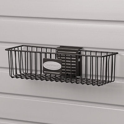 "Suncast MB0311B Storage Trends® Basket, Black, 12"" x 3"""