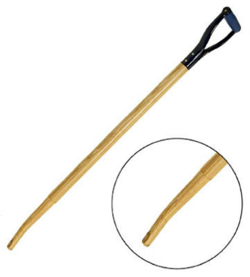 Link Handles® 66794 Professional Bent Hollowback Shovel/Scoop Handle, 38""