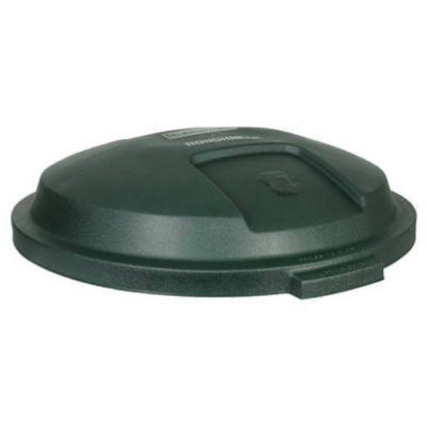 Rubbermaid 5B38-00-EGRN for Roughneck Trash Can Lid, 32 Gallon