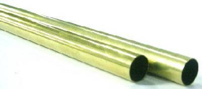 "K&S 9213 Round Brass Tube, .029 x 3/8"" x 36"""