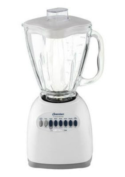 Oster® 6642 12-Speed Blender with 5 Cup Glass Jar, 450 Watt