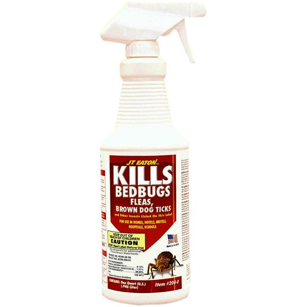 JT Eaton™ 204-O Bedbug/Flea & Tick Killer, 32 Oz