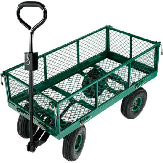 Green Thumb TC4211-1 Professional Garden Cart with Steel Frame