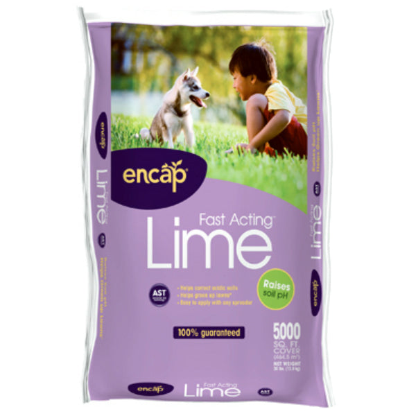 Encap® 10484-63 Fast Acting™ Lime, 5000 Sq.ft. Coverage, 30 Lb