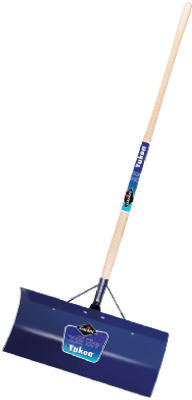 "Garant YSP24LU Yukon Steel Snow Pusher, Blue Steel Blade, 48"" Handle"