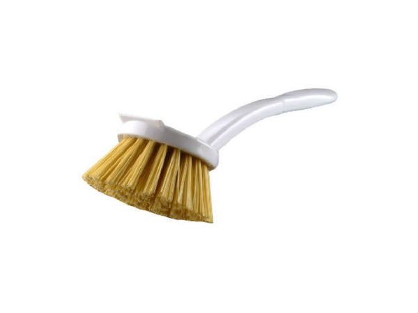 Quickie 102 Poly Fiber Vegetable Brush with Built-in Scraper